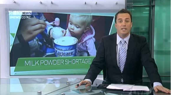 New Zealand Milk Powder Shortage
